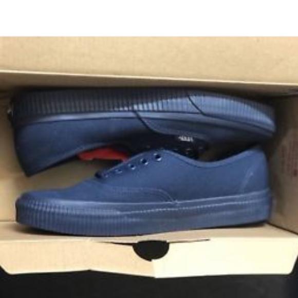 7003da0d9d Vans Authentic Mono Surplus Dress Blues Shoes